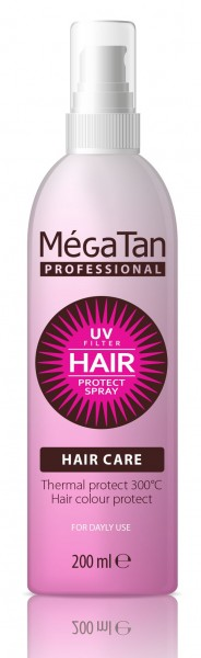 MegaTan UV & Color Protect Hair Spray 200ml